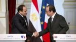 El Sisi e Hollande