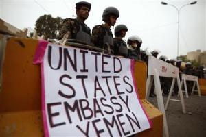 Yemen ambasciata USA