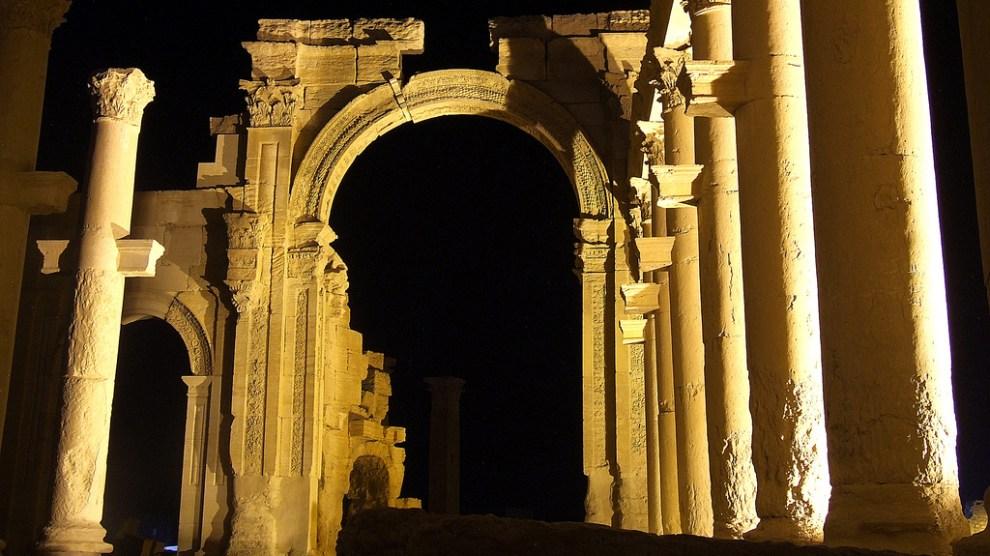 Palmira siria daesh