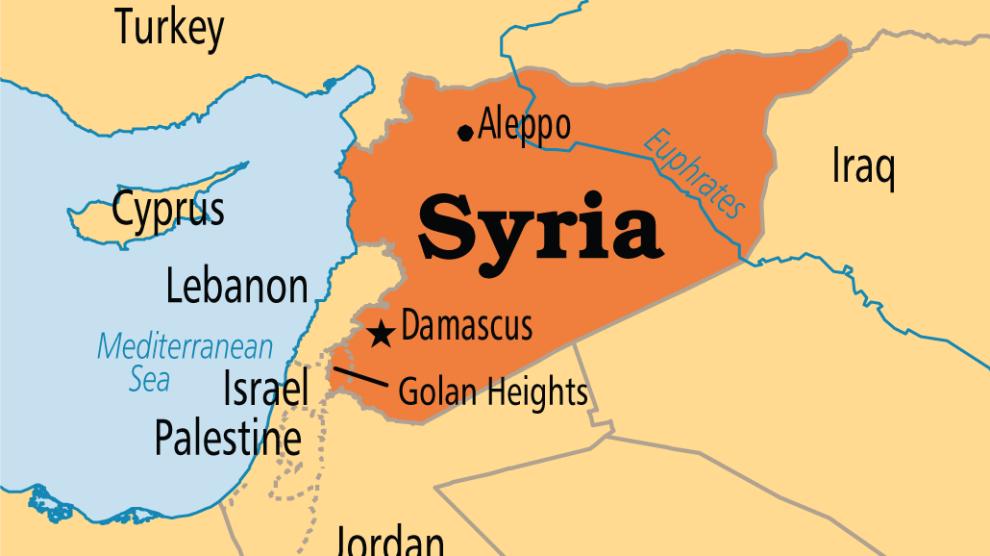 Siria map