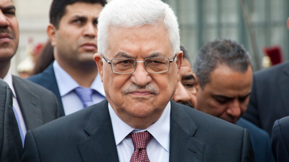 Mahmoud Abbas palestina