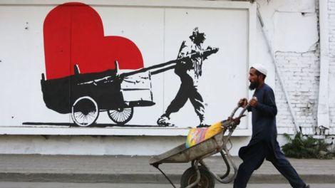 Kabul graffiti