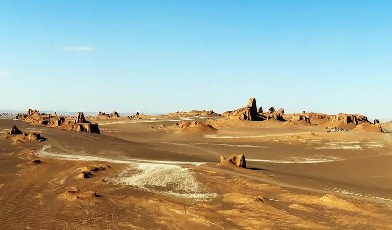 Il deserto di Lut, Iran - Patrimonio UNESCO