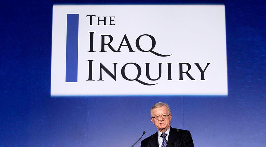 rapporto chiclot iraq