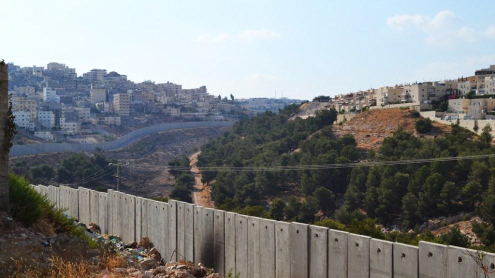 insediamenti israele palestina