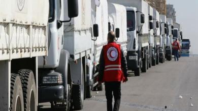 Photo of رغم القصف والغارات الجوية .. قافلة إمدادات غذائية تصل إلى الغوطة الشرقية