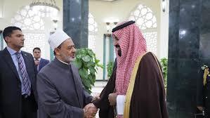 Photo of ولي العهد السعودي يزور الأزهر الشريف والكاتدرائية المرقسية بالقاهرة