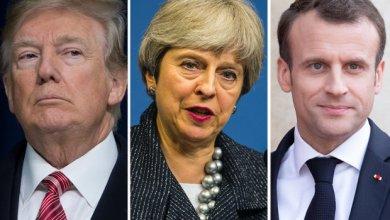 Photo of تنسيق كامل بين بريطانيا وأمريكا وفرنسا ردا على الهجوم الكيميائي بسوريا