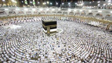 Photo of أكثر من 1.2 مليون حاج وصلوا إلى السعودية لأداء المناسك