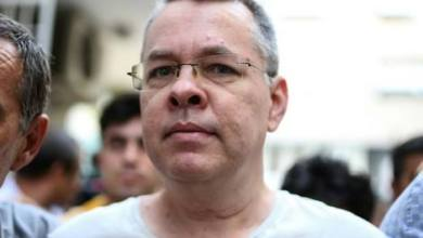 Photo of محكمة تركية ترفض التماس القس برونسون بالافراج عنه