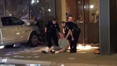 """Photo of القبض على سائق شاحنة اصطدم متعمدا بمبنى ل """"فوكس نيوز"""" الأميركية"""