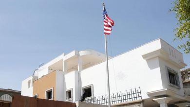 Photo of سقوط قذائف واندلاع حريق بالقرب من السفارة الأميركية بطرابلس