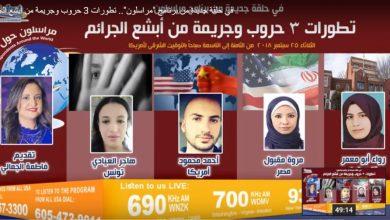 "Photo of ""مراسلون"" يناقش تطورات التصعيد بين أمريكا وإيران والسيناريوهات المقبلة"