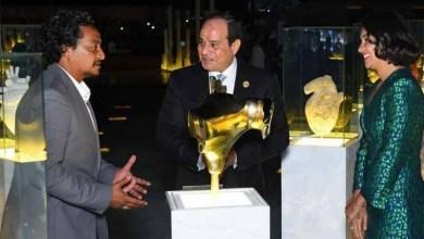 "Photo of نصب ""إحياء الإنسانية "" .. في مدينة السلام المصرية ""شرم الشيخ """