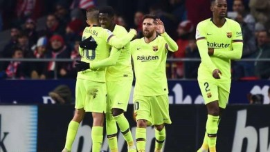Photo of ميسي يتألق ويقود برشلونة الى الفوز 2-0 على آيندهوفن الهولندى