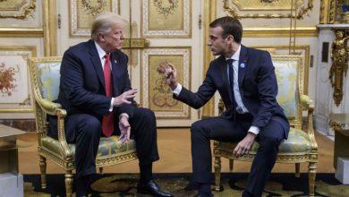 """Photo of ترامب وماكرون يلتقيان في """"قصرالإليزيه """" بباريس .. قبل """"قمة الحرب العالمية"""""""