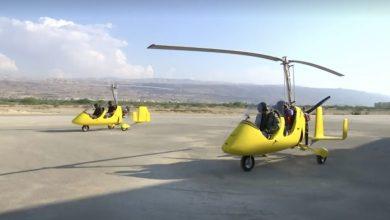 """Photo of """"الجيركوبتر"""" تجربة سياحية مثيرة في الأردن ..تتيح للسائحين رؤية البحر الميت بعين الطائر"""
