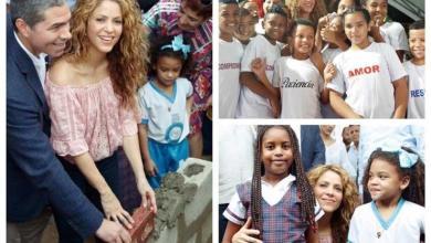 Photo of شاكيرا تضع حجر أساس مدرستين بكولومبيا وتطالب بالاستثمار في التعليم