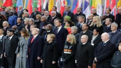 Photo of قادة وزعماء العالم يحيون الذكرى المئوية للحرب العالمية الأولى في باريس