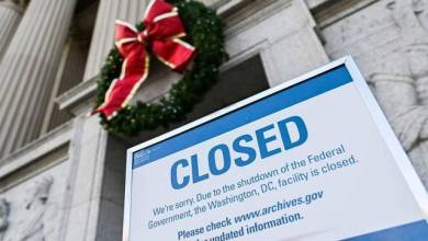 Photo of الإغلاق الحكومي الجزئي يدخل يومه ال 22 ليصبح الأطول في تاريخ الولايات المتحدة
