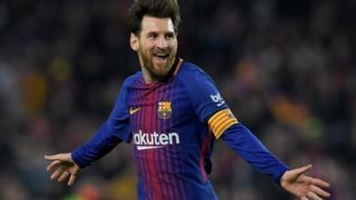 """Photo of ميسي يحصد جائزة """"لاعب الشهر"""" في الدوري الإسباني"""