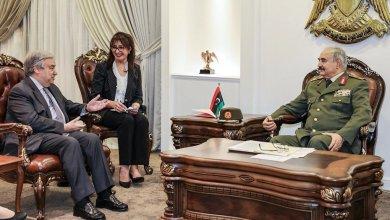 Photo of ليبيا- الحل العسكري لحفتر يحظى بدعم عربي وغربي رغم مطالب التهدئة
