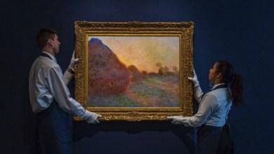 Photo of لوحة مونيه تحقق رقمًا قياسيًا بأكثر من 100 مليون دولار