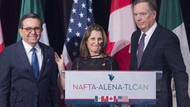 Photo of أمريكا تتوصل لاتفاق يحل الخلاف مع كندا والمكسيك بشأن التعريفات الجمركية