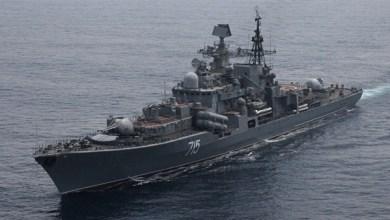 Photo of الهند تنشر بارجتين حربيتين لتأمين سفنها التجارية في الخليج