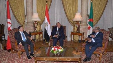 Photo of مصر وتونس والجزائر يجددون رفضهم أي تدخل خارجي في الشأن الليبي