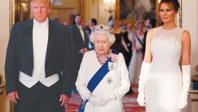 Photo of استقبال ملكي حافل لترامب في قصر باكنجهام بإنجلترا