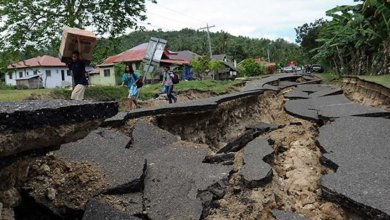 Photo of زلزال بقوة 6.4 ريختر يهز إقليم مالوكو الإندونيسي