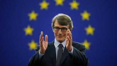Photo of انتخاب الإيطالي ديفيد ماريا ساسولي رئيسًا للبرلمان الأوروبي