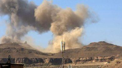 Photo of غارات جوية لمقاتلات التحالف تتسبب في انفجارات عنيفة بالعاصمة اليمنية