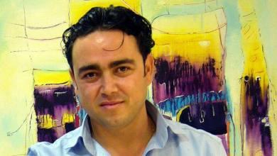 """Photo of الفنان التشكيلي """"عمار الشوا"""": أعشق كل الألوان، وألعـب معها لعبتي التي لا تنتهي"""
