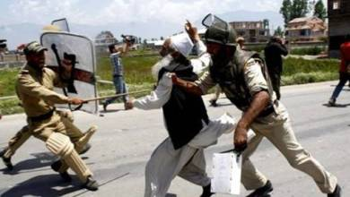 Photo of القبض على مئات المتظاهرين في كشمير الهندية