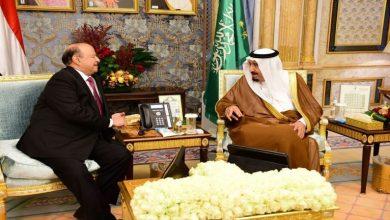 Photo of العاهل السعودي يلتقي الرئيس اليمني