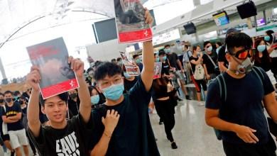 Photo of إلغاء جميع الرحلات في مطار هونج كونج بسبب المظاهرات