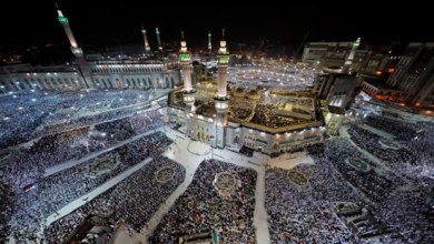 Photo of السعودية: وصول 1.8 مليون حاج إلى المشاعر المقدسة