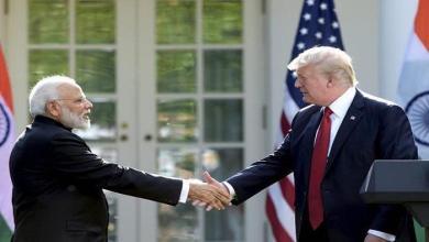 Photo of ترامب: إبرام اتفاق تجاري مع الهند قريبَا