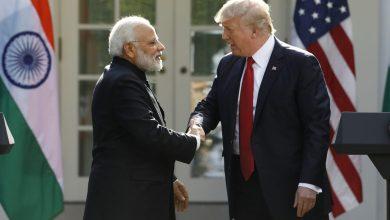 Photo of ترامب يعلن عن تدريب عسكري بين أمريكا والهند