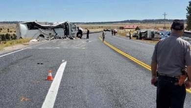 Photo of مقتل وإصابة 19 في تحطم حافلة سياحية بولاية يوتا الأمريكية