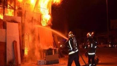 Photo of حريق يدمر معبد يهودي تاريخي بمدينة مينسوتا الأمريكية