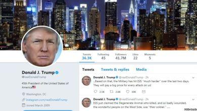 Photo of تويتر يحذف فيديو نشره ترامب ضد بايدن بسبب حقوق الملكية الفكرية