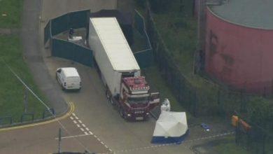 Photo of صدمة بعد العثور على 39 جثة داخل حاوية شرق لندن