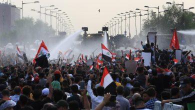 Photo of مئات المحتجين يتحدون السلطات في بغداد لليوم الرابع على التوالي