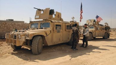 "Photo of عودة الجنود الأمريكيين لقاعدة ""مشتنور"" بكوباني شمال سوريا"