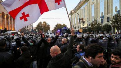 Photo of أمريكا والاتحاد الأوروبى يعلنان دعمهما للمتظاهرين فى جورجيا