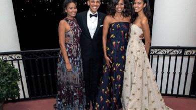 Photo of عائلة أوباما تحتفل بعيد الشكر (صورة)