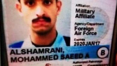 Photo of اللحظات الأولى لإطلاق النار الذي نفذه سعودي بقاعدة أمريكية (فيديو)